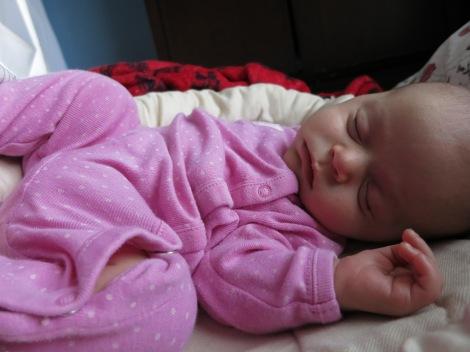 having a snooze